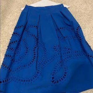 Cutout skirt